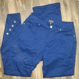 Jaanuu Shanti Dress Scrub Bottoms Royal Navy pants